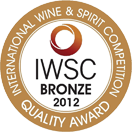 International Wine and Spirit Competition: Bronze medal