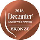 Decanter World Wine Award: Bronze medal