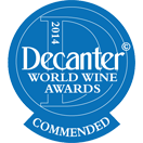 Decanter World Wine Awards: Commended